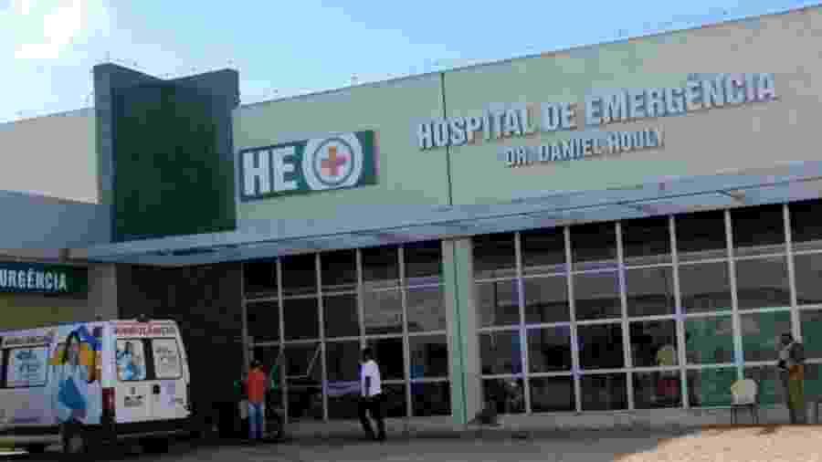 Fachada do Hospital de Emergência Daniel Houly, em Arapiraca (AL) - Divulgação