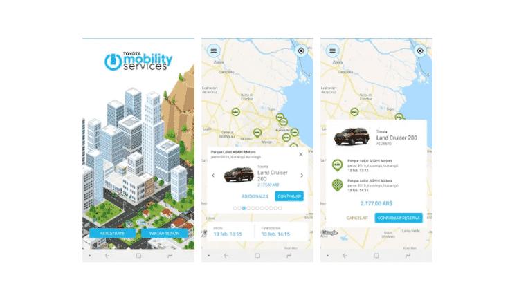 Toyota Mobility Services - Reprodução - Reprodução