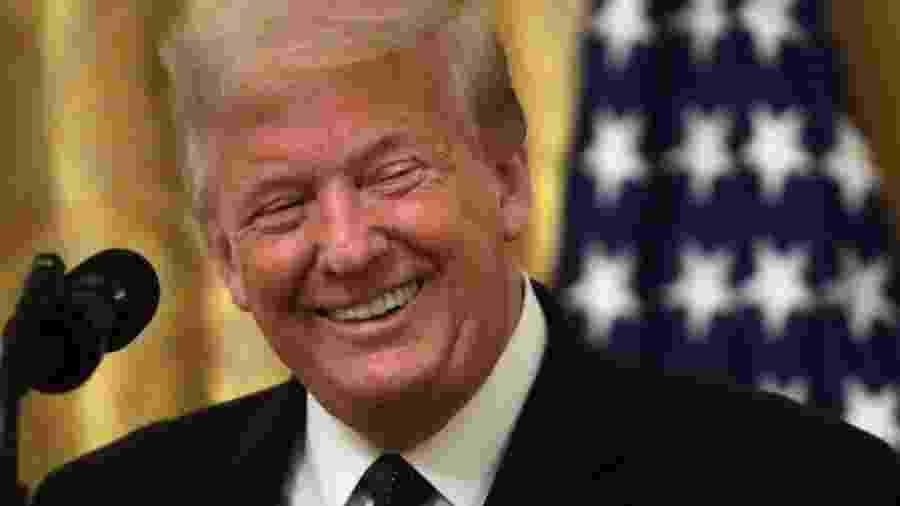 Trump tem estado na Casa Branca e fora do olhar do público a maior parte do tempo desde a eleição - Getty Images