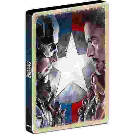 Capitão América: Guerra Civil - Blu-Ray Steelbook - Divulgação - Divulgação