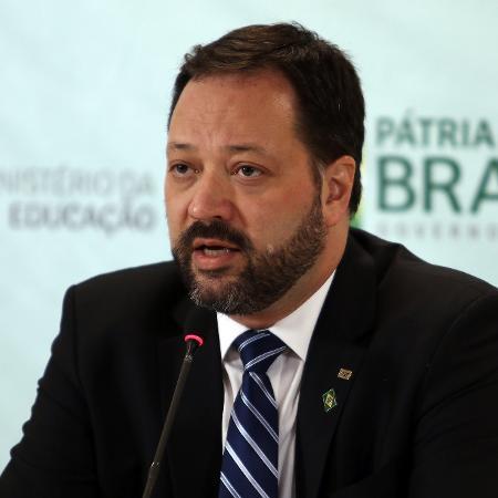 """O presidente do Inep, Alexandre Lopes: """"Nunca cogitamos não fazer o Enem"""" - Gabriel Jabur/MEC"""