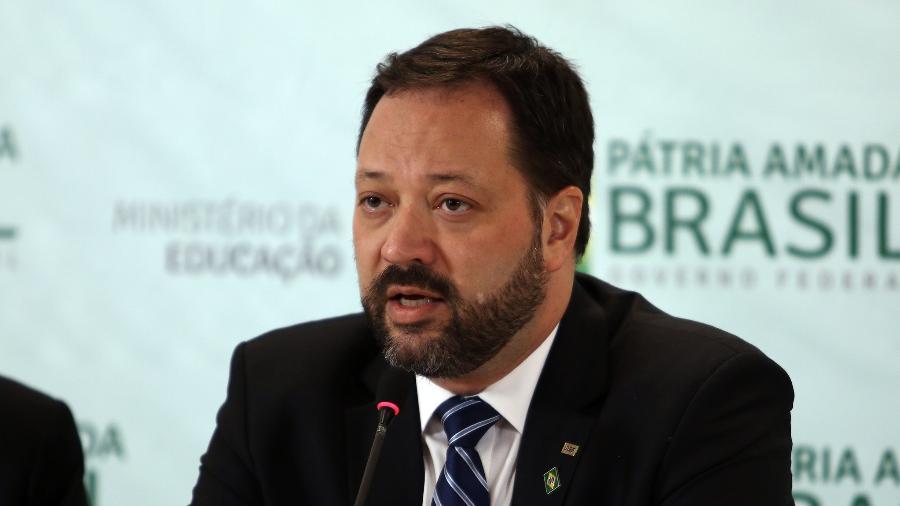 Alexandre Lopes disse que teve que tomar as decisões sozinho em relação ao Enem - Gabriel Jabur/MEC