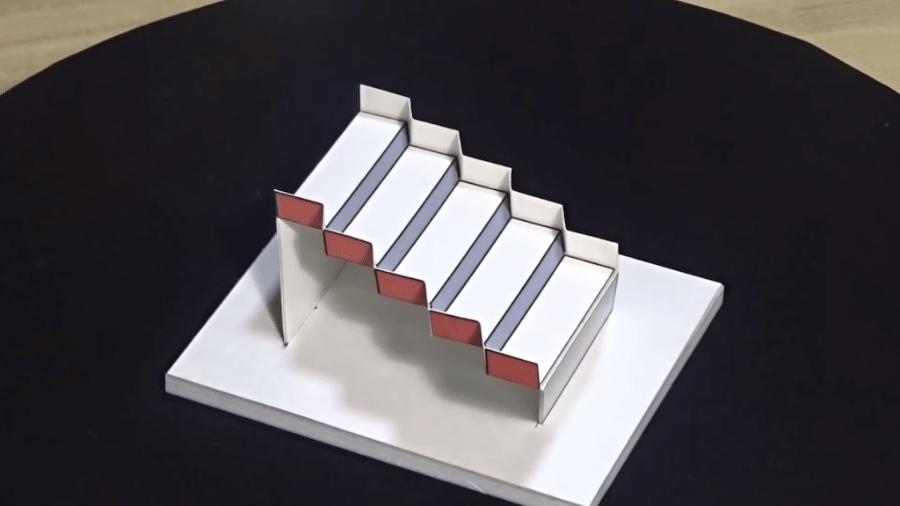 Escadaria de Schroder em 3D - Reprodução