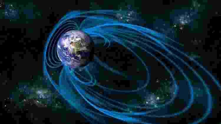 O estudo de furacões espaciais pode ajudar a entender as conexões entre a ionosfera terrestre e o campo magnético - Science Photo Libray - Science Photo Libray