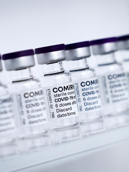 Produção de vacina da Pfizer/BioNTech em Reinbek, na Alemanha - Christian Charisius/REUTERS
