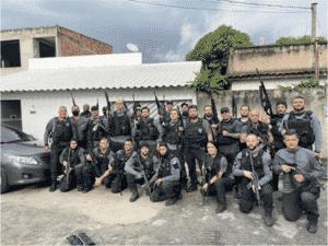 Policiais durante operação Dia dos Namorados - Reprodução / Polícia Civil - Reprodução / Polícia Civil