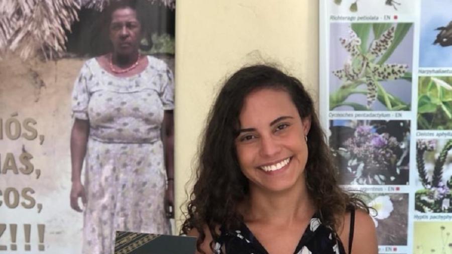 Rebeca Mello conseguiu nova certidão dos Kalunga nesta semana - Arquivo pessoal