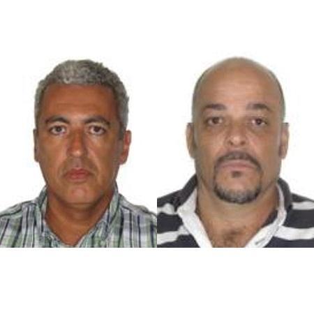 Os policiais José Luís Alves (à esq.) e Carlos Henrique dos Santos - Reprodução