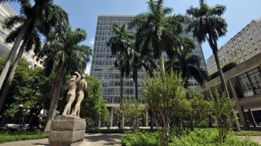 Palácio Capanema, no centro do Rio de Janeiro - Divulgação/Iphan