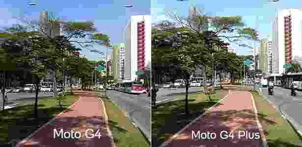 Foto: Moto G4 x Moto G4 Plus - UOL - UOL