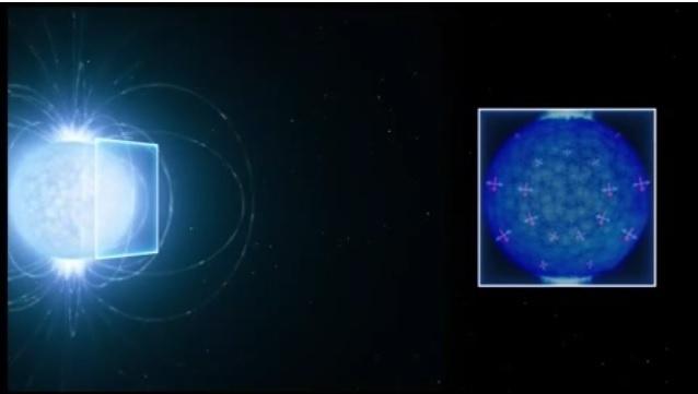 30.nov.2016 - Ilustração para vídeo: Astrônomos encontram 1ª evidência de efeito quântico raro previsto há 80 anos
