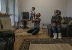 Na histórica Weimar, refugiados refletem: quando quatro paredes se tornam um lar? - Mauricio Lima/The New York Times