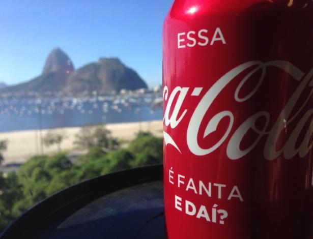 Ação foi feita apenas internamente, com latinhas distribuídas na sede da Coca-Cola