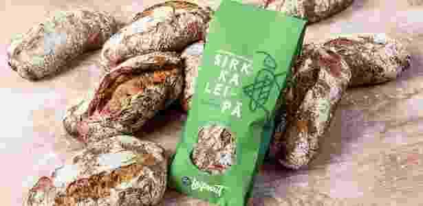 Cada pão contém 70 insetos - Fazer Bakery/Divulgação