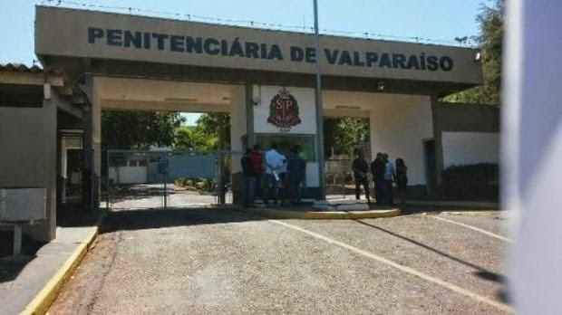 10.dez.2017 -- A Penitenciária de Valparaíso, no interior de São Paulo