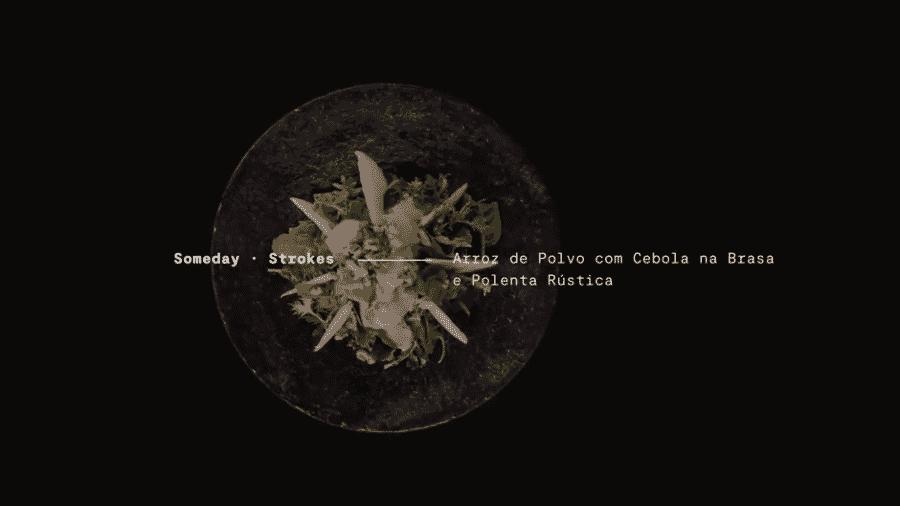 """""""Someday"""", dos Strokes, tem gosto de arroz de polvo com cebola na brasa e polenta rústica - Reprodução"""