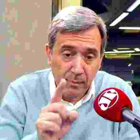 Marco Antonio Villa está na espera de uma reunião na Jovem Pan -