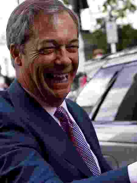 27.maio.2019 - Nigel Farage, líder do partido do Brexit - Reuters