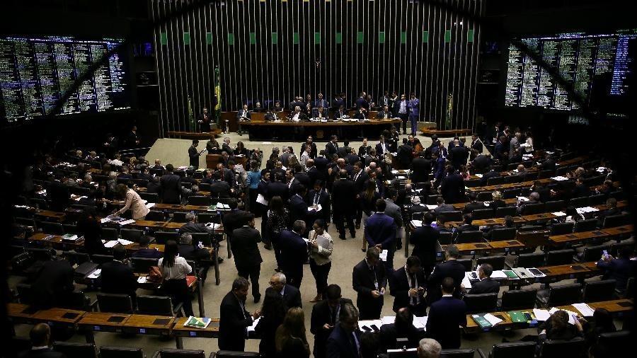 Plenário da Câmara dos Deputados - Pedro Ladeira/Folhapress