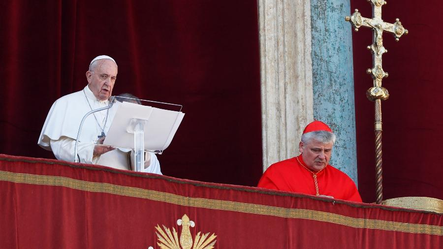 Papa Francisco transmite sua mensagem de Natal: em sete anos igreja mudou - YARA NARDI
