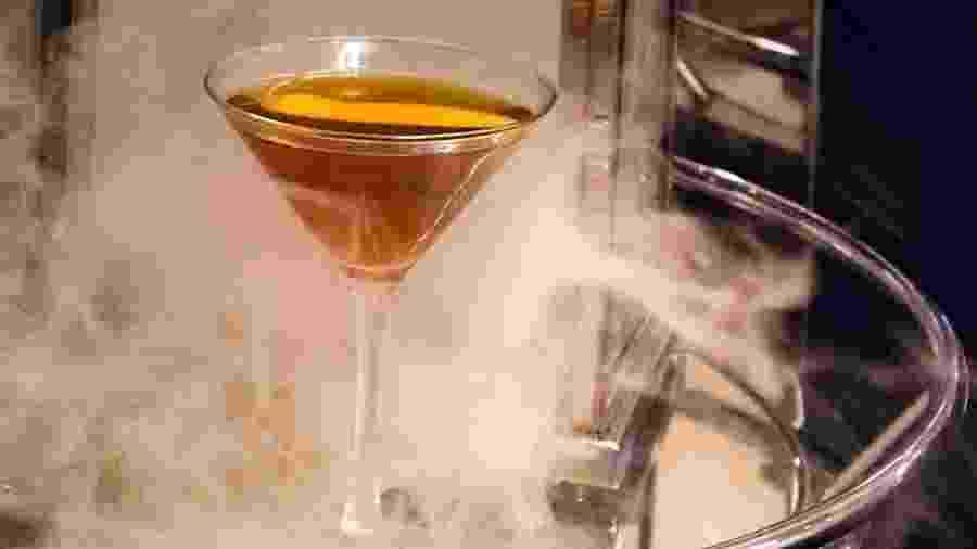 Drink Smoking Jacket, servido resotr Cosmopolitan de Las Vegas - Reprodução/Cosmopolita de Las Vegas
