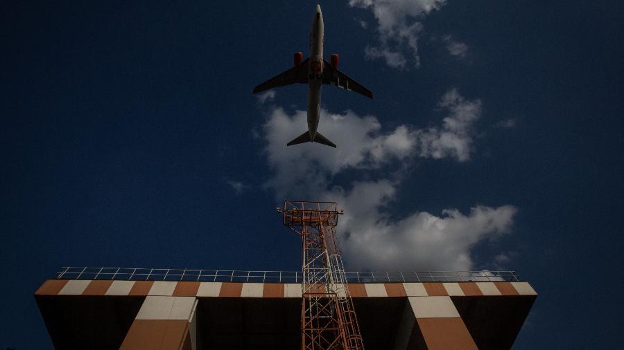 O Aeroporto de Congonhas, em São Paulo, deve ser leiloado em 2022 - Bruno Santos/ Folhapress