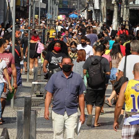 Empresários do comércio de bens, serviços e turismo do Rio de Janeiro apontaram o agravamento da pandemia da covid-19 como o motivo da piora dos negócios - ESTEFAN RADOVICZ/ESTADÃO CONTEÚDO
