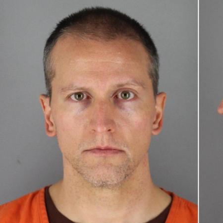 Derek Chauvin foi filmado pressionando o pescoço de Floyd durante quase nove minutos - Divulgação/ Gabinete do xerife do condado de Hennepin