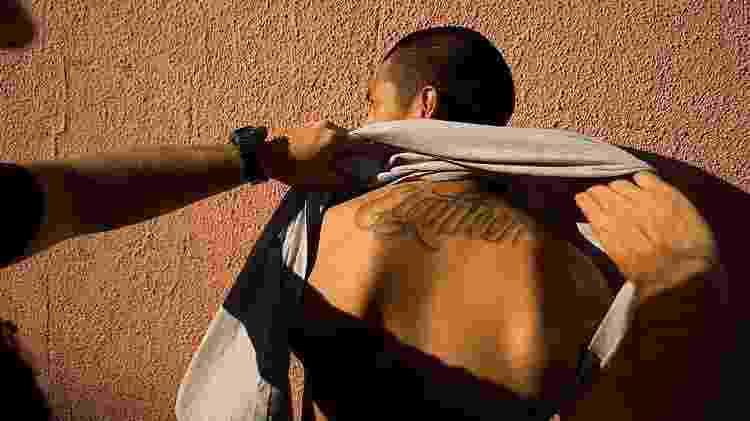Supuesto pandillero detenido en Los Ángeles - Getty Images - Getty Images