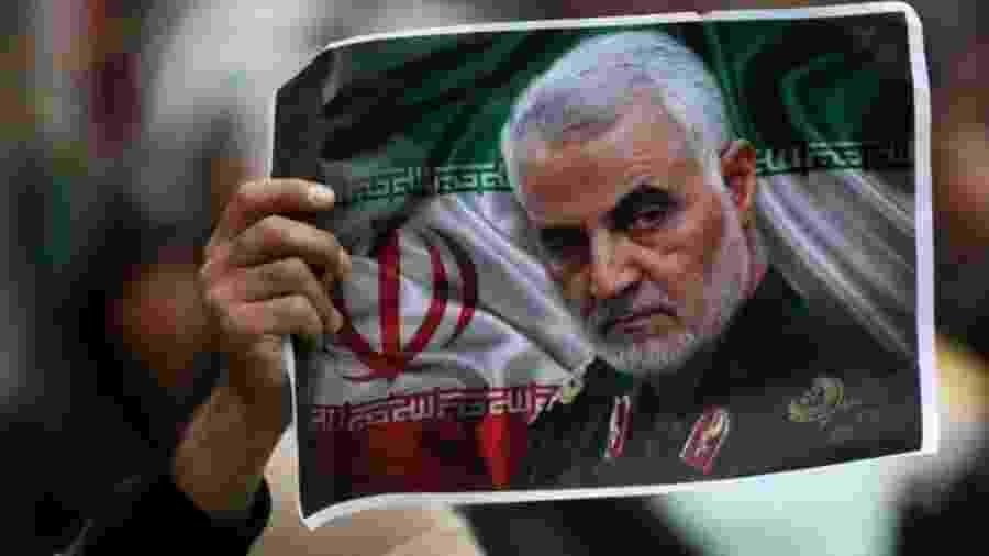 Qasem Soleimani foi morto em um ataque de drone ordenado por Donald Trump - Reuters