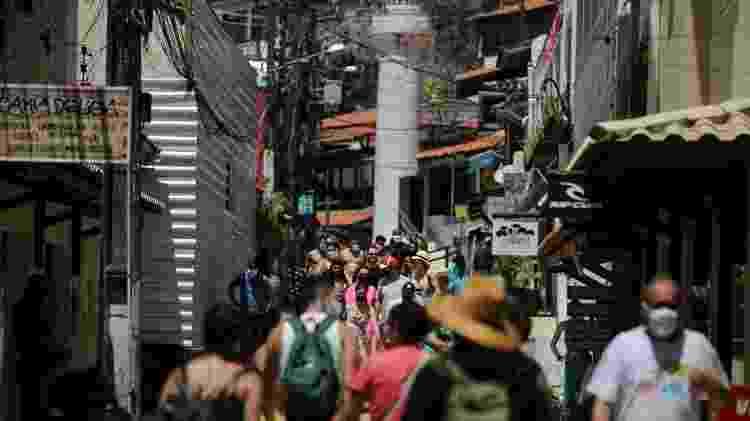 Após cinco meses, turistas retornam a Morro de São Paulo-BA - Raul Spinassé/UOL - Raul Spinassé/UOL