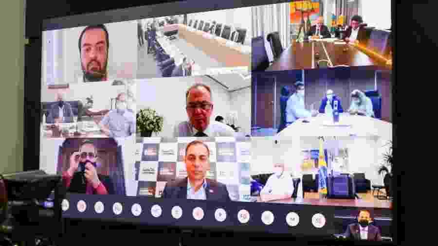 Governadores participam de reunião com o Ministério da Saúde para debater o PNI - Governo do Estado de São Paulo