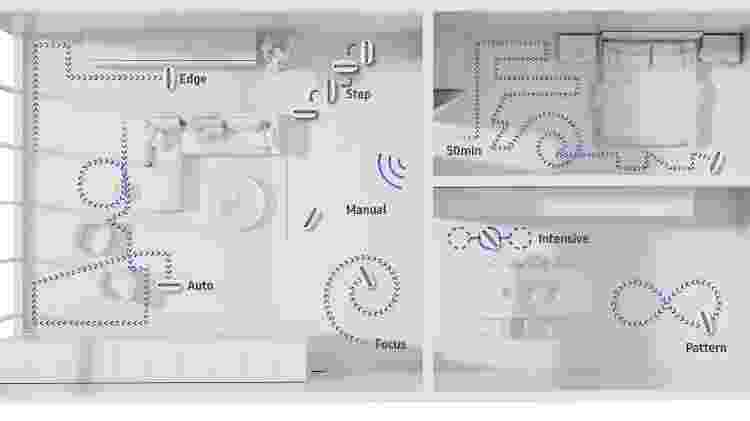 Jetbot Mop VR6000: oito modos de limpeza do robô que passa pano da Samsung - Divulgação - Divulgação
