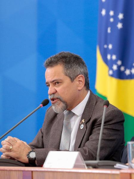 Secretário-executivo do Ministério da Saúde, Elcio Franco fez pronunciamento sobre problema nos sistemas da pasta - Divulgação/Palácio do Planalto