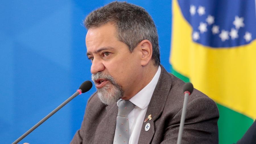 Elcio Franco, secretário-executivo do Ministério da Saúde, diz que os laboratórios Janssen e Pfizer fazem exigências que prejudicam interesses do Brasil  - Divulgação/Palácio do Planalto
