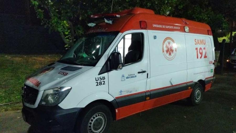 Assaltante roubou ambulância do Samu para atacar casal de idosos - Divulgação/Polícia Militar