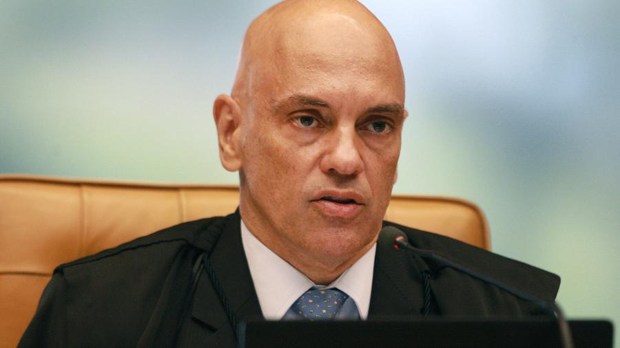 Alexandre de Moraes, do STF, negou pedido da defesa de Wilson Witzel (PSC) - Nelson Jr./SCO/STF