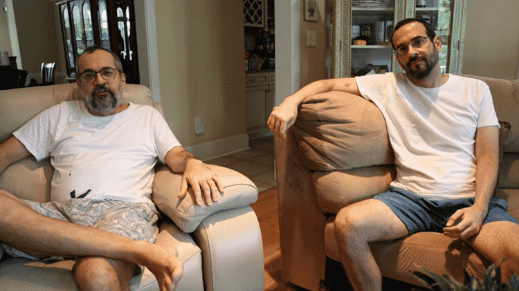 Abraham e Arthur Weintraub contaram nas redes sociais que contraíram covid-19 e se recuperaram da doença - Reprodução/Youtube - Reprodução/Youtube
