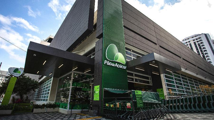 Fachada do supermercado Pão de Açúcar GPA - Divulgação