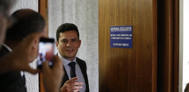 O juiz Sérgio Moro, responsável pela Lava Jato em primeira instância