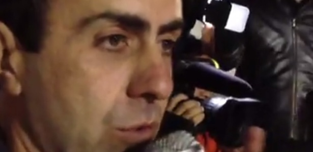 O candidato Marcelo Freixo (PSOL)
