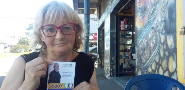 A professora Maria Elisabeth Coelho Noms, 62, se filiou ao PSD e não teve nenhum voto