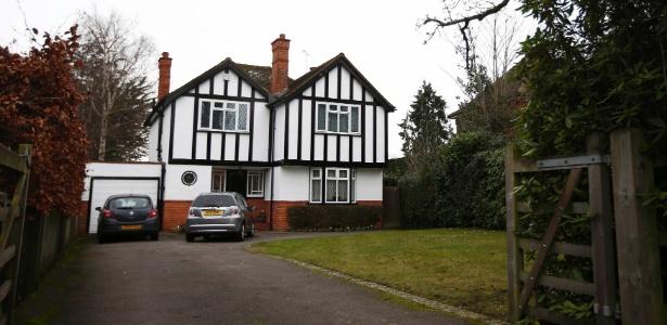 Segundo a imprensa local, esta casa em Wokingham, no Reino Unido, seria a residência do ex-espião Christopher Steele