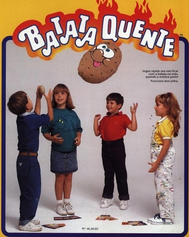 Batata Quente da Estrela foi lançado em 1990