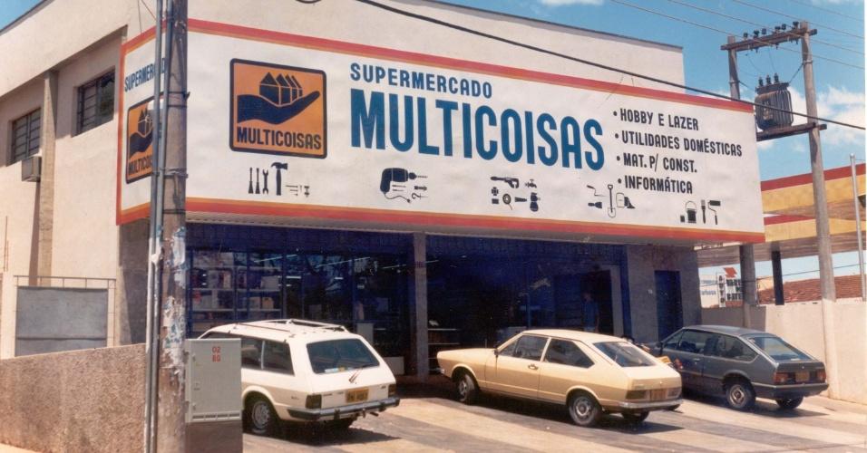 Loja multicoisas, que deu origem à franquia Multicoisas