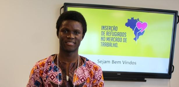 Fugindo da guerra civil no Congo, Henock agora tem esperança de um emprego brasileiro