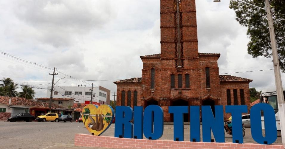 """1º.dez.2017 - Os imóveis em Rio Tinto eram """"emprestados"""" aos trabalhadores da fábrica homônima, que pagavam uma determinada quantia pela permanência no local"""