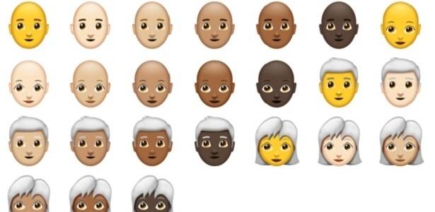Quem disse que só existe gente de cabelo loiro ou moreno?