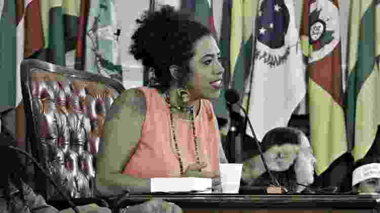A vereadora de Niterói Talíria Petrone (PSOL) - Reprodução/Facebook/Talíria Petrone - Reprodução/Facebook/Talíria Petrone