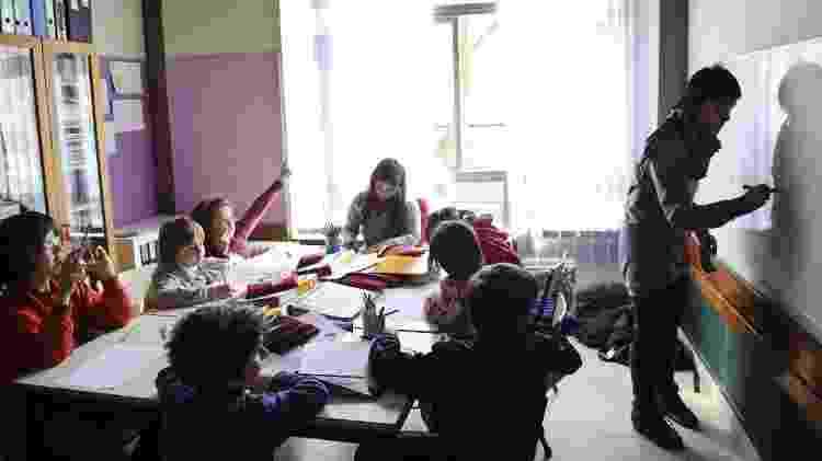 3.mar.11 - Sala de trabalho na Escola da Ponte, no Porto, em Portugal - Nelson D'aires/Folhapress - Nelson D'aires/Folhapress